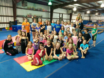 open gym at FlipStar Gymnastics